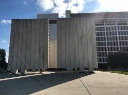 JFK Memorial Structure.